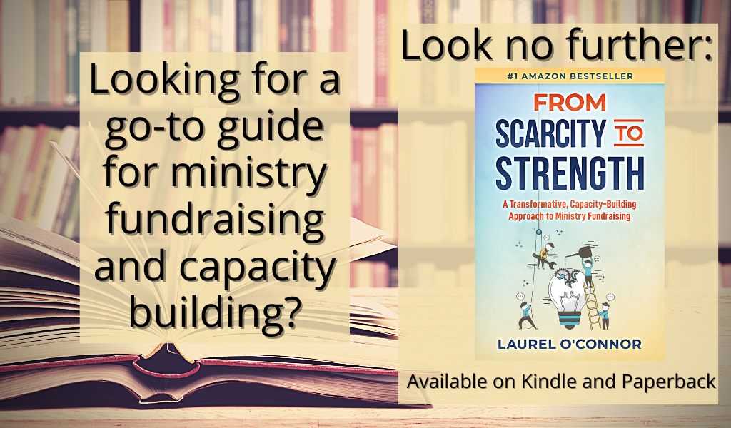 Photo of From Scarcity to Strength book that is a link to the amazon page to buy